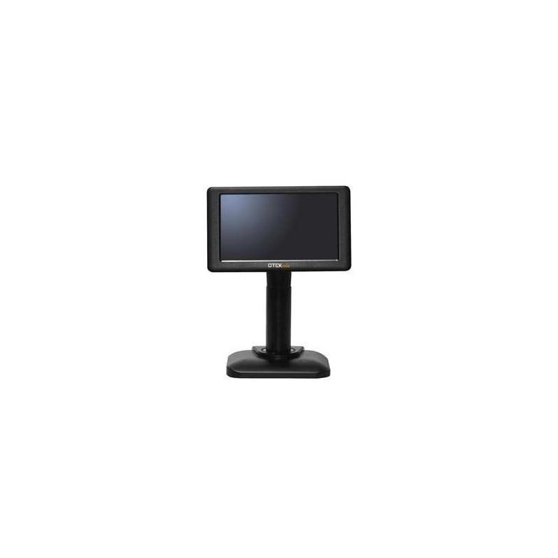 VISOR LCD OTEK 7 USB NEGRO